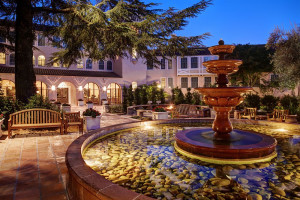 Exterior view of The Fairmont Sonoma Mission Inn & Spa.