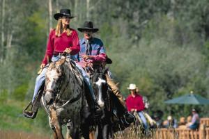 Horseback riding at The Pines Lodge, A Rock Resort.