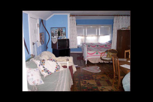 Guest room at Northrop-Oftedahl House B & B.