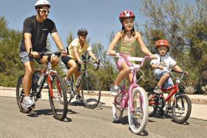 Bike trails at Fairway Suites.