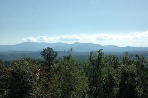 Mountain view at Enchanted Mountain Retreats, Inc.