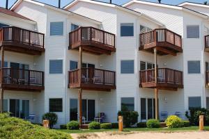 Exterior view of The Beach Condominiums Hotel-Resort.