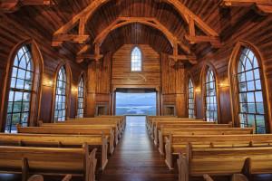 Wedding chapel at Big Cedar Lodge.