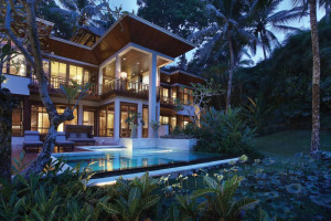 Exterior view of Four Seasons - Bali at Sayan.