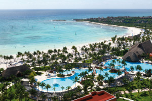 Aerial View at Barcelo Maya Beach Resort