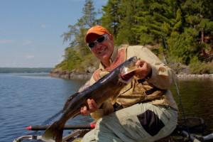 Fishing at Timber Bay Lodge & Houseboats.