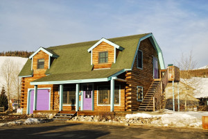 Rental exterior at Twin Season Vacations.