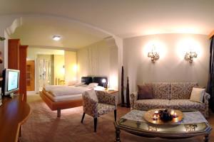 Guest room at Klammer's Kärnten.