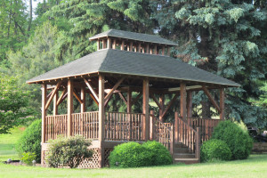 Gazebo at Vineyard Bed & Breakfast.