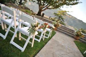 Wedding ceremony at Columbia Gorge Hotel.