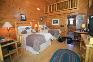Guestroom at The Hideout Lodge & Guest Ranch