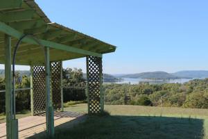 Scenic view at Ozark Cabins.