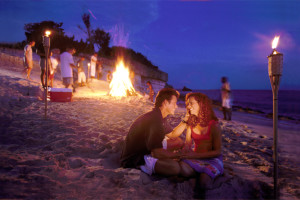 Nightlife at Island Properties Luxury Rentals.