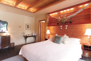 Honeymoon suite at Sonoma Coast Villa & Spa Resort.