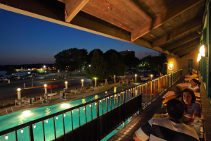 Romantic evenings at Harbor Shores.