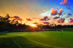 Golf course at Holiday Inn Club Vacations at Orange Lake Resort.