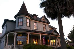 Exterior view of Pensacola Victorian.