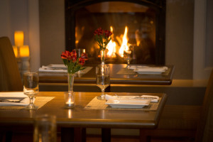 Romantic dining at Emerson Resort & Spa.