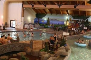 Water park at Three Bears Lodge.