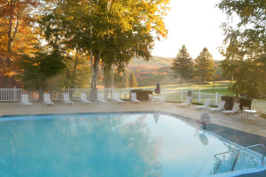 Outdoor pool at Otsego Club and Resort.
