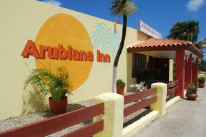 Exterior view of The Arubiana Inn.
