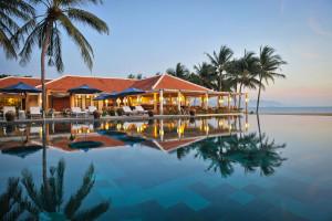 Outdoor pool at Ana Mandara Resort.