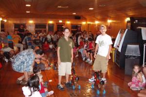 Family activities at Baumann's Brookside Summer Resort.