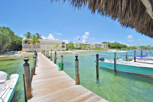 Rental docks at iTrip - Islamorada.