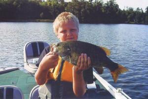 Fishing at Evergreen Lodge