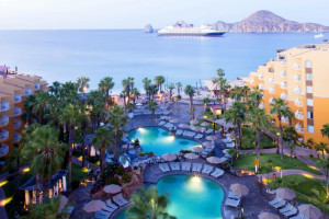 Exterior view of Villa del Palmar Beach Resort and Spa.