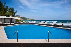 Outdoor pool at Biras Creek Resort.