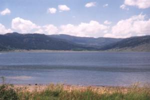 Panguitch Lake near Grand Lodge at Brian Head.