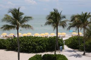 View of the beach at Sundial Beach & Golf Resort.