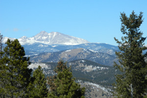 Mountain view at Eldora Lodge.