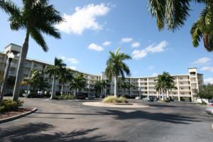 Exterior view of Boca Ciega Resort