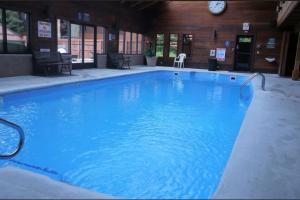 Vacation rental indoor pool at SkyRun Vacation Rentals - Summit County, Colorado.