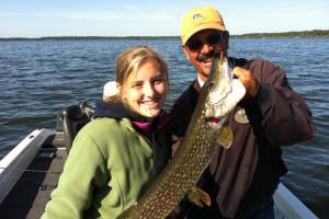 Fishing at Grand View Lodge.