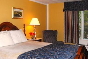 Guest room at Eisenhower Hotel & Conference Center.