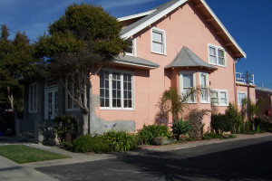Rental exterior at Coastal Vacation Rentals.