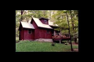 Cabin exterior at Cherry Ridge Cabin Rentals.