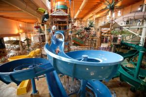 Indoor water park at Chula Vista Resort.