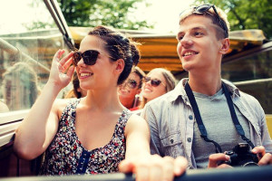 Free shuttle to Orlando attractions at Westgate Lakes Resort & Spa.