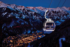 Ski lift at Accommodations in Telluride.