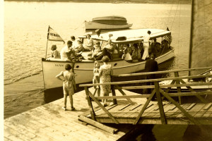 Historical photo of Sebasco Harbor Resort.