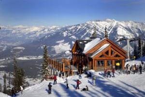 Exterior view of Fernie Alpine Resort.