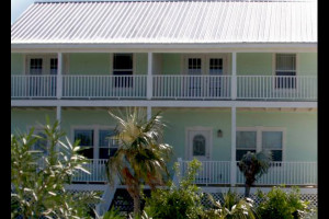Exterior view of Paradise Sands Eleuthera.