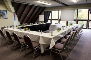 Meeting room at Waterville Valley Resort.