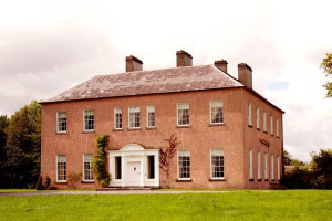 Exterior view of Enniscoe House.