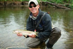 Fishing at The Home Ranch.