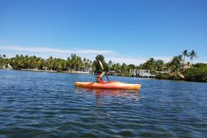 Kayaking at La Jolla Resort Hotel.